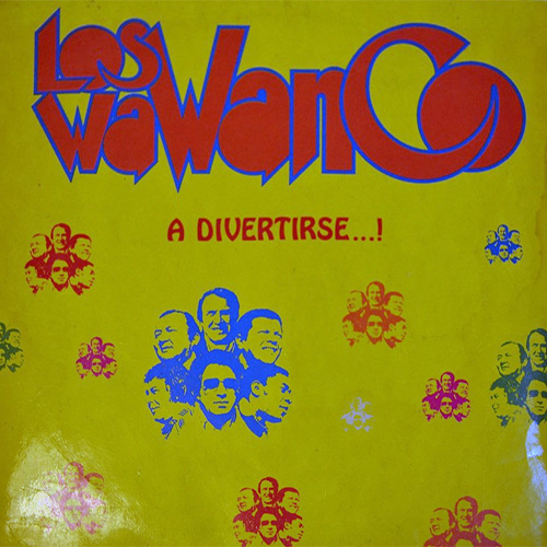 Tapa del CD A DIVERTIRSE - Los Wawanco