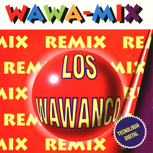 Tapa del CD WAWA MIX