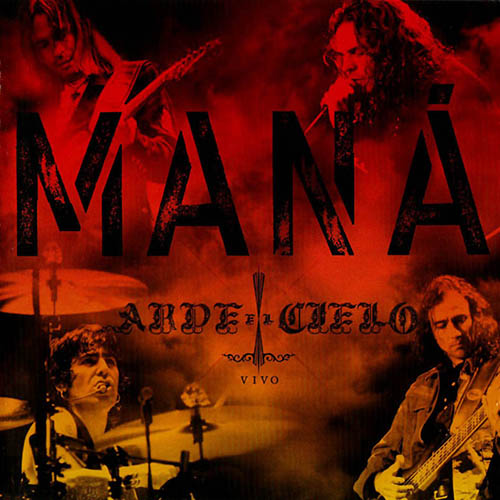 Tapa del CD ARDE EL CIELO - EN VIVO - CD + DVD - Man�