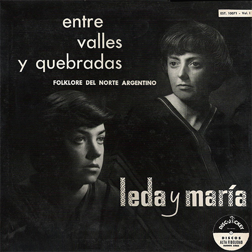 Mar�a Elena Walsh - ENTRE VALLES Y QUEBRADAS VOL 1 (LEDA Y MAR�A)