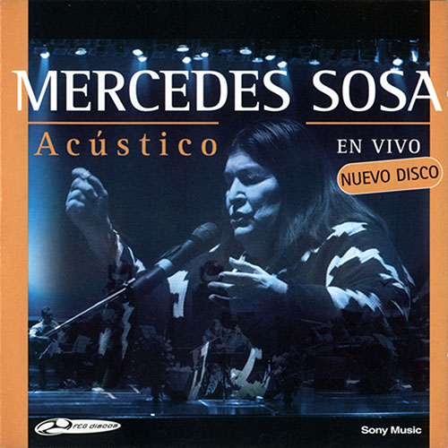 Tapa del CD AC�STICO CD II - Mercedes Sosa