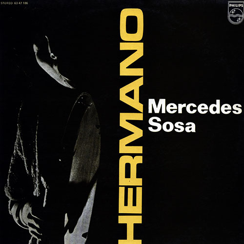 Tapa del CD HERMANO - Mercedes Sosa