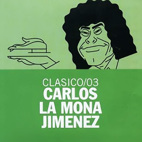 Tapa del CD CL�SICO/ 03 - La Mona Jim�nez