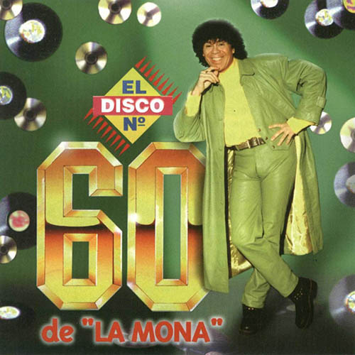 Tapa del CD EL DISCO 60 - La Mona Jim�nez