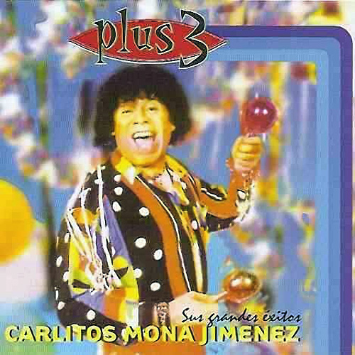 Tapa del CD PLUS 3 - La Mona Jim�nez