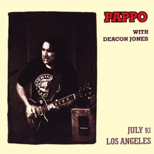 Tapa del CD JULY 93 - LOS ANGELES- PAPPO Y DEACON JONES - Pappo