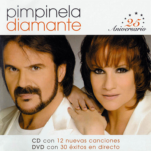 Tapa del CD DIAMANTE (CD + DVD) - Pimpinela