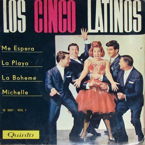 Tapa del CD LOS CINCO LATINOS 1966