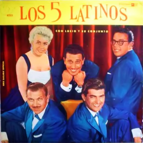 Tapa del CD LOS 5 LATINOS