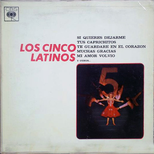 Tapa del CD LOS CINCO LATINOS