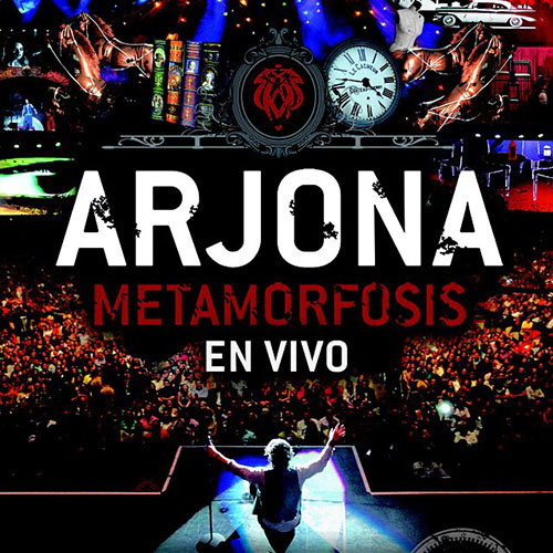 Tapa del CD METAMORFOSIS EN VIVO - CD 1 - Ricardo Arjona