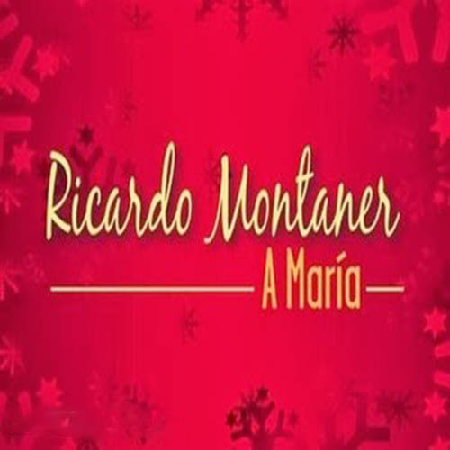 Tapa del CD A MAR�A - SINGLE - Ricardo Montaner
