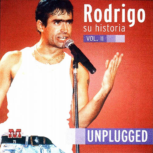 Tapa del CD SU HISTORIA VOL 2 - UNPLUGGED - Rodrigo
