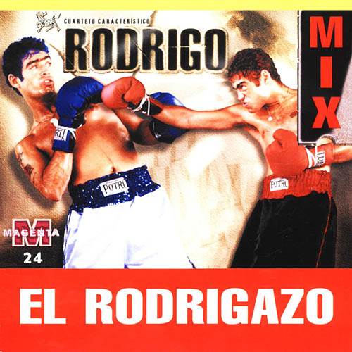 Tapa del CD EL RODRIGAZO MIX