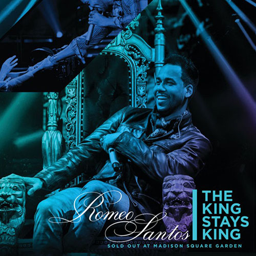 Tapa del CD THE KING STAYS KING - SOLD OUT AT MADISON SQUARE GARDEN (CD) - Romeo Santos