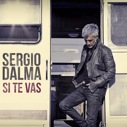 Tapa del CD SI TE VAS - SINGLE - Sergio Dalma