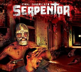 Tapa del CD FINAL SANGRIENTO - Serpentor