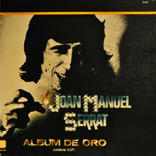 Tapa del CD ALBUM DE ORO CD 1 - Joan Manuel Serrat
