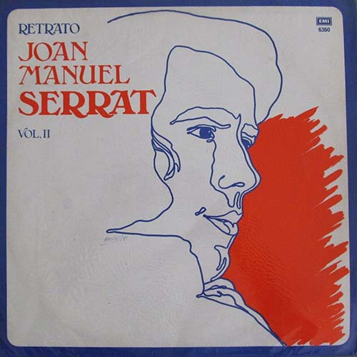 Tapa del CD RETRATO VOL II - Joan Manuel Serrat