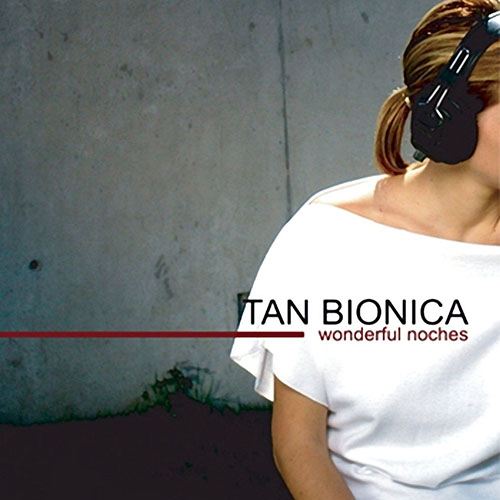 Tapa del CD WONDERFUL NOCHES - Tan Bi�nica