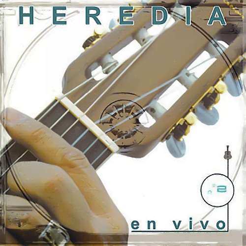 Tapa del CD HEREDIA EN VIVO CD II