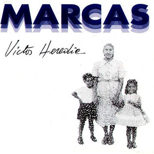 Tapa del CD MARCAS - Victor Heredia