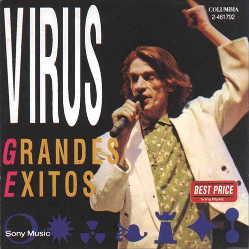 Tapa del CD GRANDES EXITOS - Virus