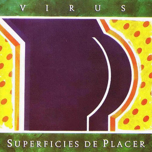 Tapa del CD SUPERFICIES DE PLACER - Virus