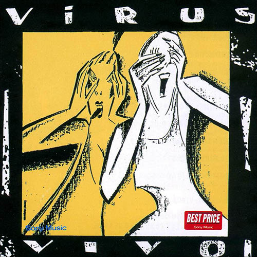 Tapa del CD VIVO - Virus