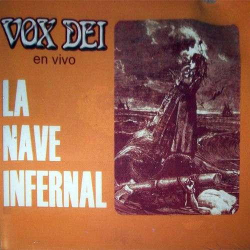 Tapa del CD EN VIVO- LA NAVE INFERNAL - Vox Dei