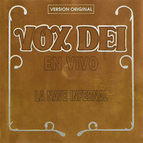 Tapa del CD LA NAVE INFERNAL - Vox Dei