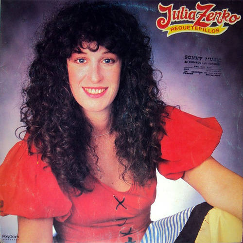 Tapa del CD REQUETEPILLOS - Julia Zenko