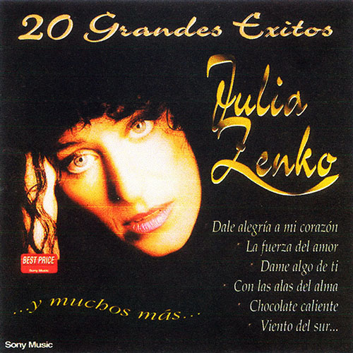 Tapa del CD 20 GRANDES �XITOS - Julia Zenko