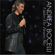 Andrea Bocelli - UNDER THE DESERT SKY (DVD + CD)