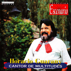 Tapa del CANTOR DE MULTITUDES - Horacio Guarany