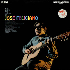 Jose Feliciano - THE VOICE AND GUITAR OF JOSE FELICIANO