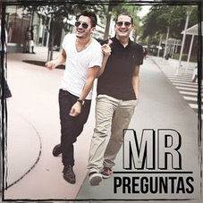Tapa del PREGUNTAS - SINGLE - MR - Mau y Ricky Montaner