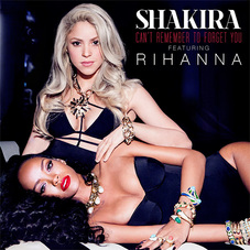 Shakira - CAN´T REMEMBER TO FORGET YOU - SINGLE