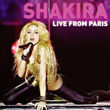 Shakira - LIVE FROM PARÍS - CD+DVD