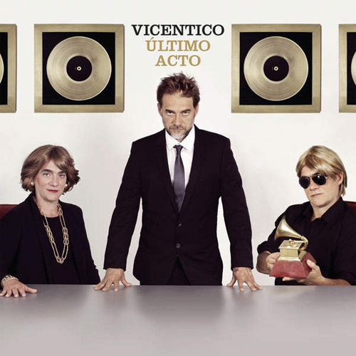 Tapa del CD �LTIMO ACTO (CD+DVD) - Vicentico